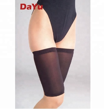Healthcare Seamless Compression Thigh support, Unisex Anti-Swelling Thigh Sleeves, Taiwan Produced