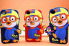 HOTTEST!!! Dongguan factory manufacture cartoon design silicone phone case for Pororo