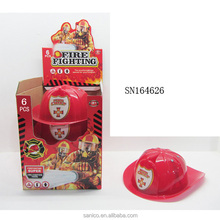 hot sell plastic children toy plastic fire hat