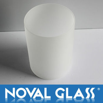 Frosted glass lamp shade, Decorative Glass Shade, Art Glass Lamp Cover