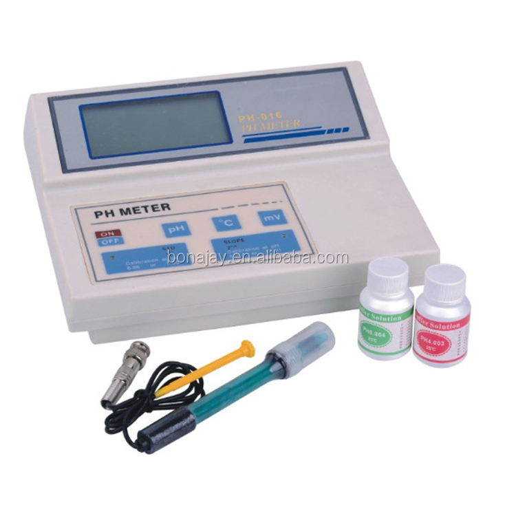 KL-016 Bench pH/mV/Temperature Meter(Backlit display)