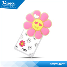 Veaqee Citycase Mobile phone Accessory 3D case cover with Flowers for iphone 5 5S