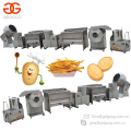 Trade Assurance Small Scale Finger Chips Making Machine Frozen French Fries Production Line Potato Chips Plant