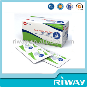 OEM Customized Design Best Quality Disposable Alcohol Prep Pad