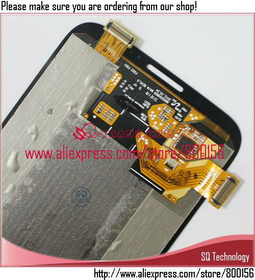 LCD Assembly for Samsung for Galaxy Note 2 N7100 +Digitizer Gray Color