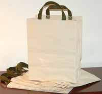 Recycled 100 Cotton White or Black Canvas Tote Bags Plain with Gusset Cheap Price
