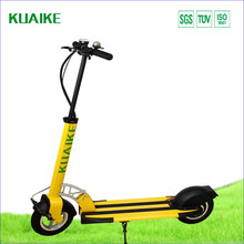 New design foldable cheap electric scooter with handlebar and pedal for adults