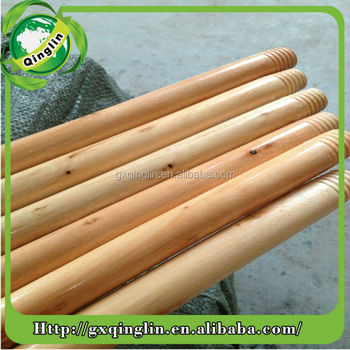 varnished wooden mop handle, painted wooden stick, painted wooden dowels
