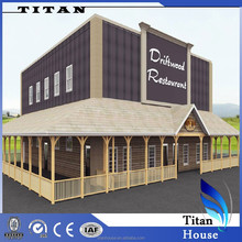 2015 Fashion Cold Formed Steel Framing Kitset Food Court for Sell