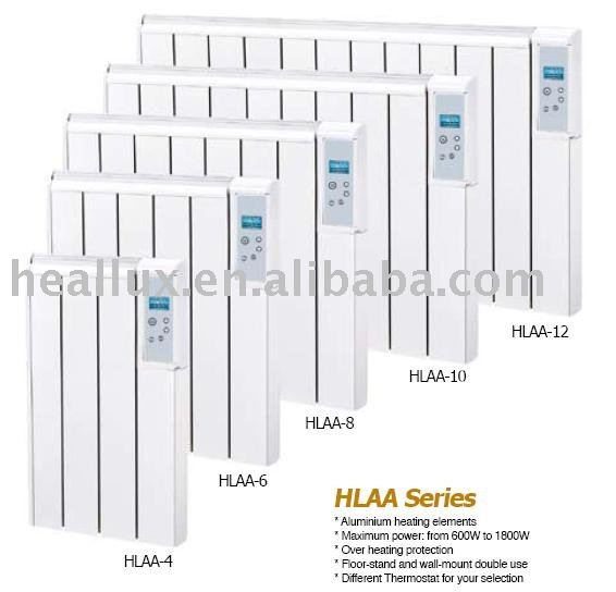 HLAA series Electrical Radiator / Floor-stand and wall-mount double use