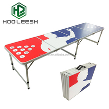 8FT Aluminum Portable Sport Ping Pong Table