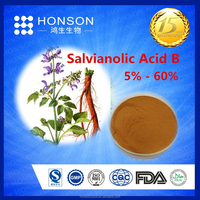 chinese herbs salvia root extract danshen powder Salvianolic Acid B for Sports health drink