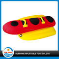 inflatable banana boat towable tube, water towable tube for sport on water equipment
