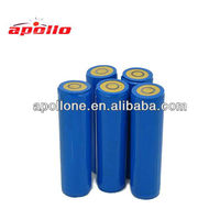 lithium battery rechargeable 3.7v 2000mah 18650 li ion battery
