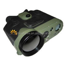 long range thermal PTZ IR infrared night vision security imaging camera 5km cooled