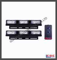 12 LED Warning Emergency Decoration Vehicle Car Truck Boat Strobe Lights LB1010-3