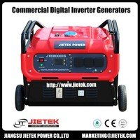 8kw 8000w strong power gasoline Inverter Generator equal to 10kw Non-inverter generator