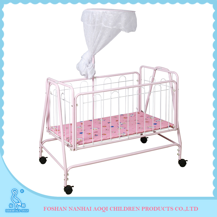 Baby bed 877 with swing cradle buy bed baby bed baby bed for Cradle bed for adults