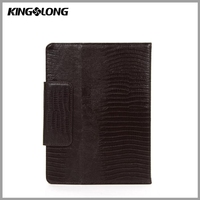 Durable Leather 10.1 Anti-shock Tablet Case with Vertical Stand for Ipad