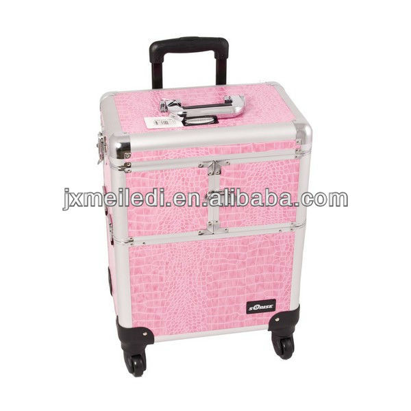 MLD-1657 fashion design aluminium cosmetic case make up box