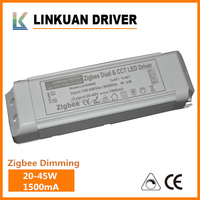 90-285vac TOT Agreeement dual stage two stage 60w 100w 300w 1500ma PWM WIFI Dimmable led driver With UL TUV CE Certification