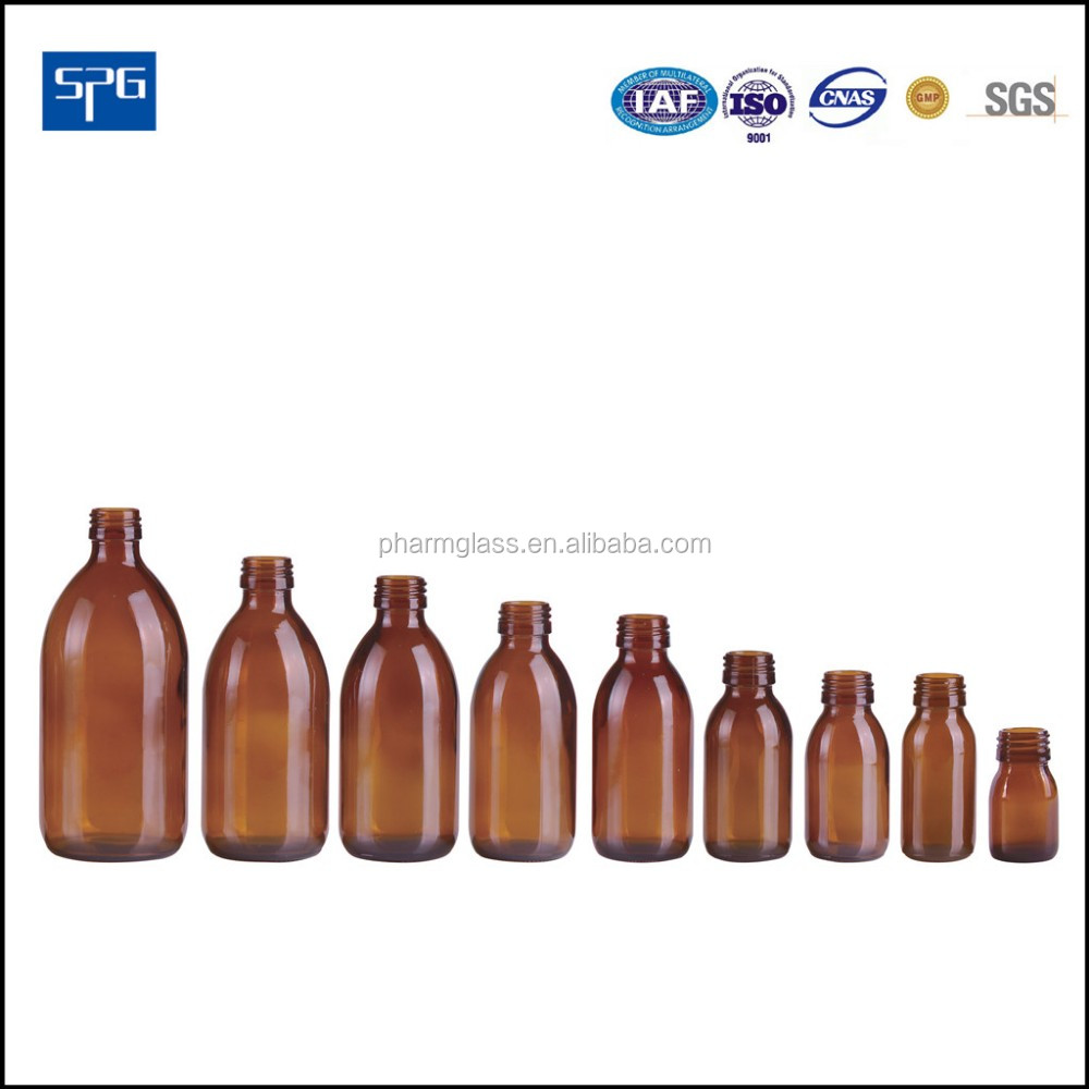 syrup amber glass bottle and glass bottles for maple syrup for pharmaceutical