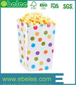 Disposable Custom Paper Popcorn Box in Packaging Box High Quality Custom Paper Popcorn Box