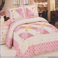 2015 varies family pattern Microfiber bedding sets polyester comforter