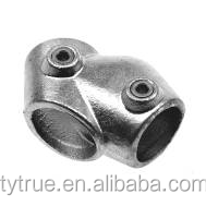 Quick tube clamp joints pipe fittings 129 Adjustable Short Tee