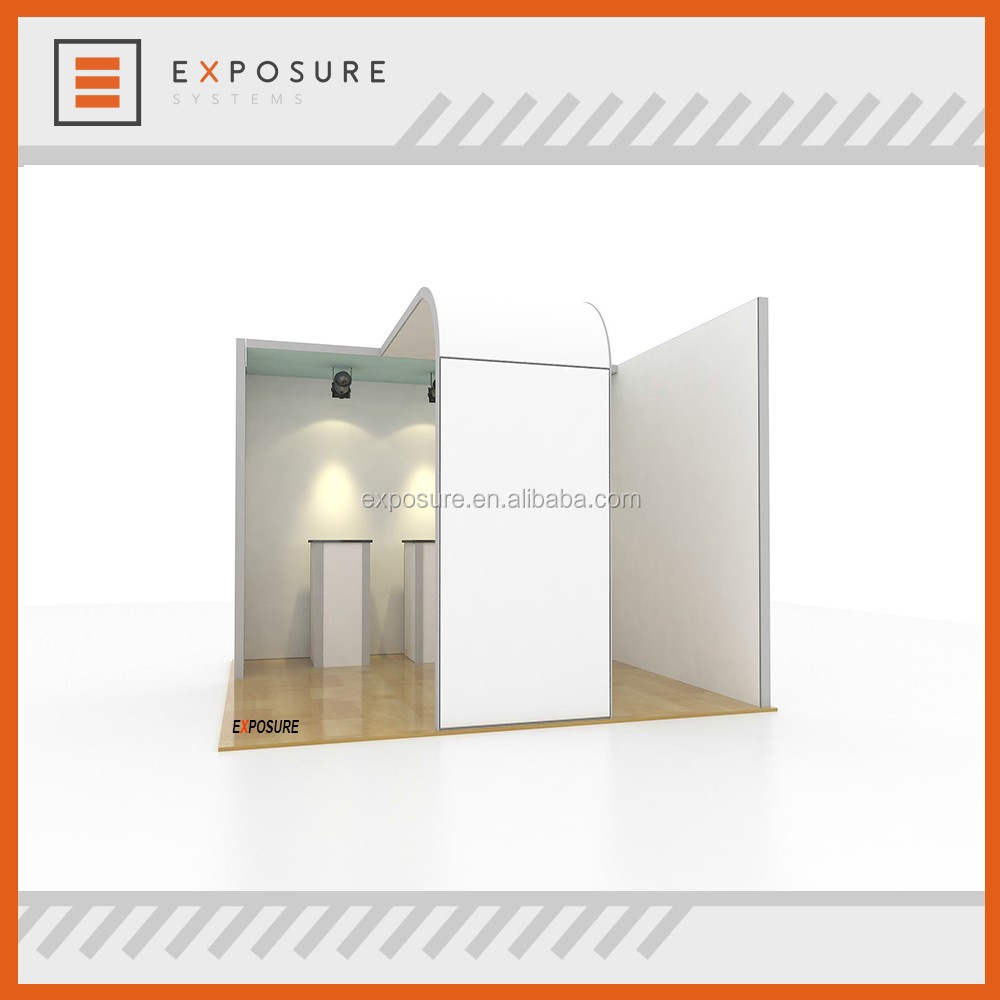 Aluminum frame exhibition stands