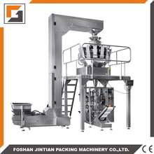 Automatic banana chips/dried food packaging machine