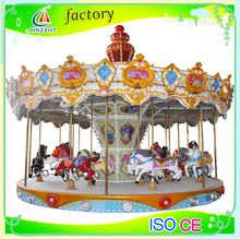 High quality children ride indoor carousel rides for sale