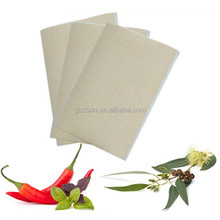 Hot sale external use thermo capsicum rheumatism plaster