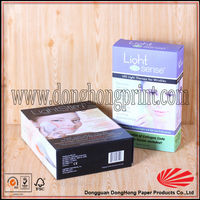 Gift cardboard ointment packaging box with pet insert