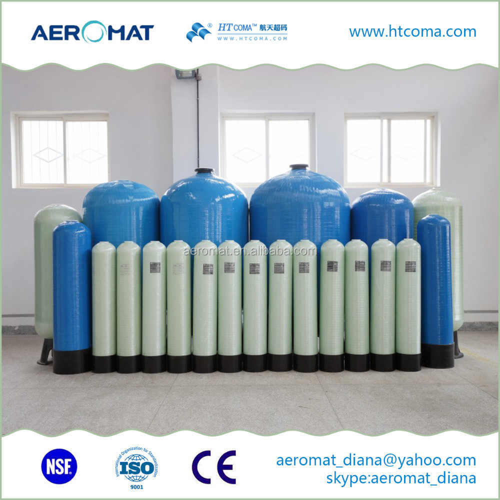 Water Filter FRP Fiberglass Pressure Tank ultrafiltration system for house