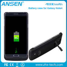 extended power bank Power Pack Backup 4800mAh Battery Case For Samsung Galaxy Note 4 with bulk price