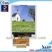 1.77inch color tft lcd graphic display transmissive
