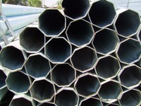 galvanized construction building material octagonal pipes