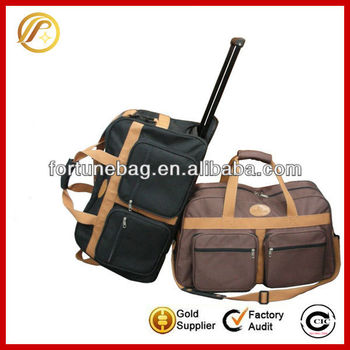 Durable and fashion travel bag trolley