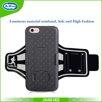 New Arrival Product Gift Keep Fit Fitness PVC+ Neoprene Smartphone Armband for iPhone 6 Plus