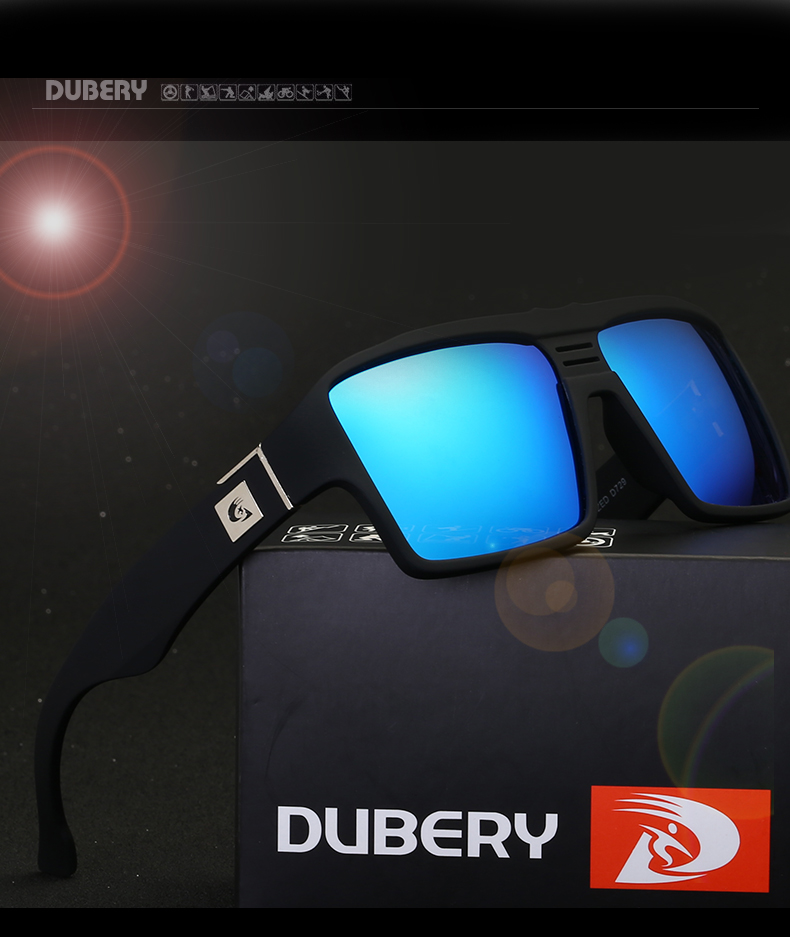 HTB15dfwgm I8KJjy0Foq6yFnVXaS - DUBERY Polarized Sunglasses Men's Retro Male Goggle Colorful Sun Glasses For Men Fashion Brand Luxury Mirror Shades Cool Oculos