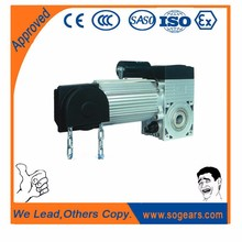 Power operated garage door opener 24v/dc motor 500-1000W