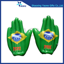 Advertising PVC cheering giant inflatable hand