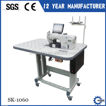 Automatic uniform cuffs pattern sewing machine for collar