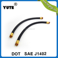 SAE J1402 black rubber type a air brake hose assembly for truck brake systems