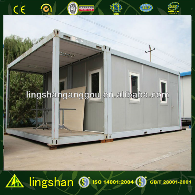 SGS Certificated Fast Installation Flat Pack 20fit Container Office in Malaysia