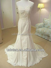 Spandex Chiffon mermaid wedding dress