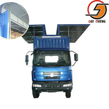 Steel tipper bodies, truck bodies, OEM truck body van