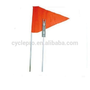 Safety Flag Orange Bicycle Childs Bike Mobility Scooter Kids Safety flag 160cm