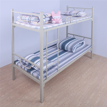 OEM easy assembly double decker metal bunk bed